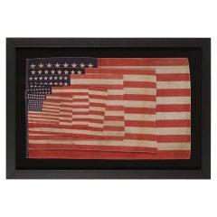 48 Star Parade Flag Salesman's Sample
