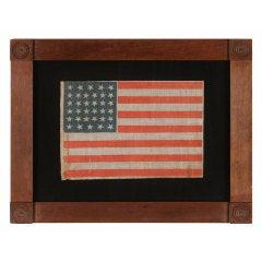 34 Stars, A Civil War Period Parade Flag