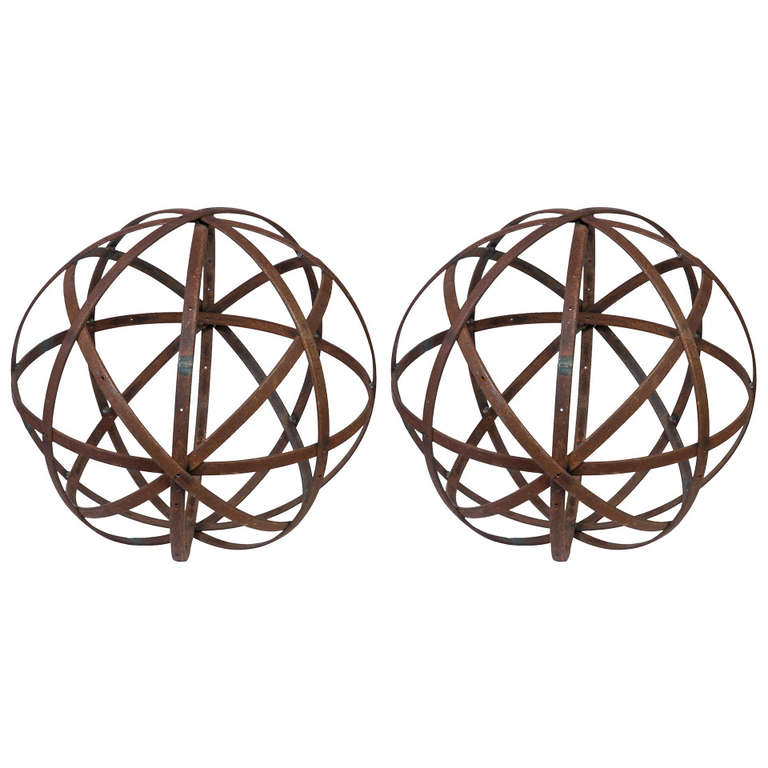Large Metal Spheres For Sale At 1stdibs