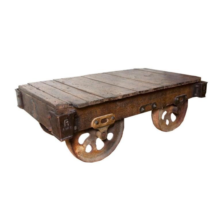 Vintage Industrial Cart at 1stdibs
