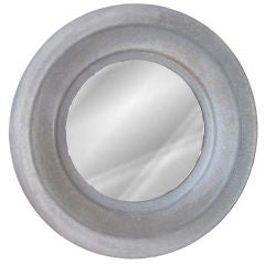 Large Zinc Disk Industrial Mirrors