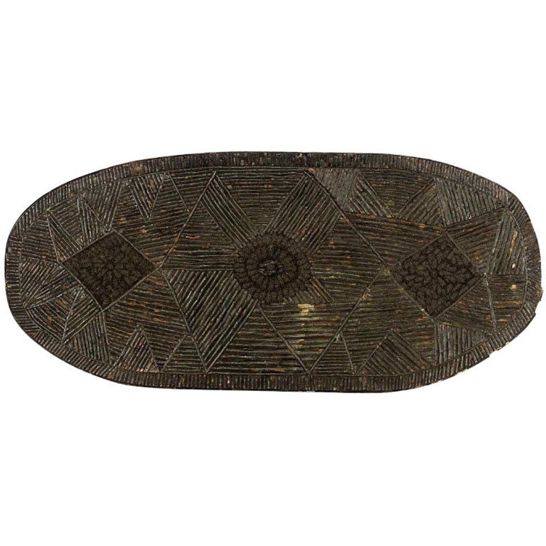 Oval Twig Table Top At 1stdibs