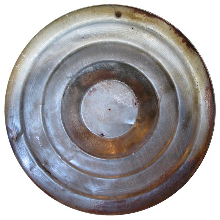 Decorative Metal Disc At 1stdibs