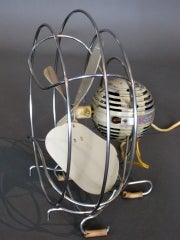 Machine Age Table Fan by Westinghouse c.1940s thumbnail 4