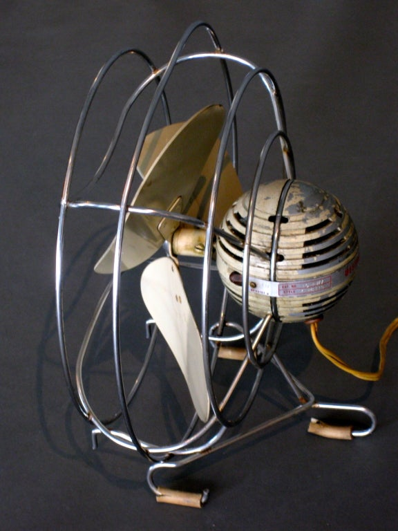 Machine Age Table Fan by Westinghouse c.1940s image 5