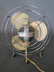 Machine Age Table Fan by Westinghouse c.1940s thumbnail 7