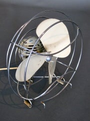 Machine Age Table Fan by Westinghouse c.1940s thumbnail 8