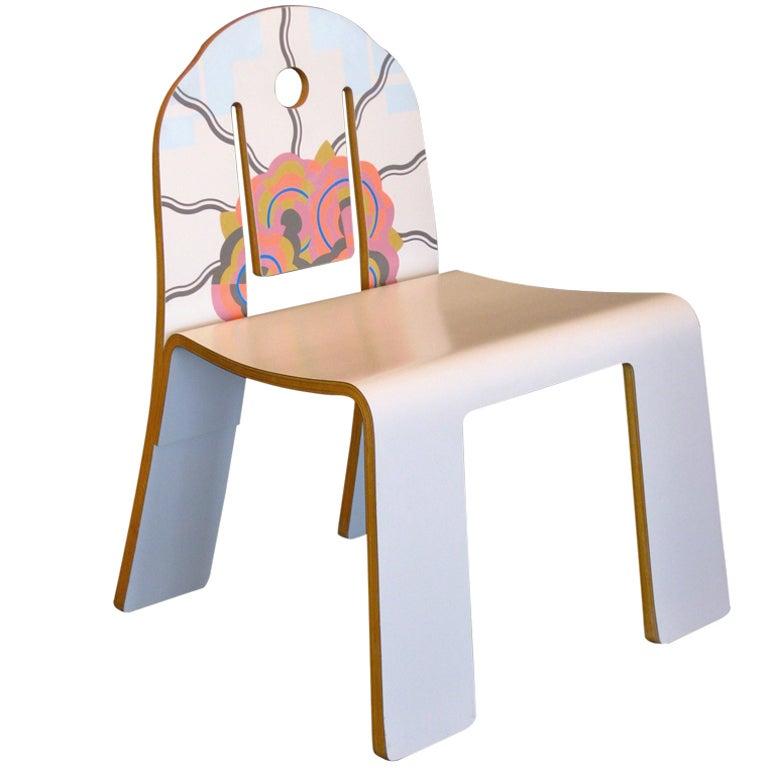 Robert Venturi Art Deco Chair Model No 665 For Knoll At