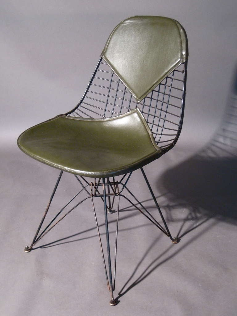 early original charles eames eiffel tower chair 1951 at 1stdibs. Black Bedroom Furniture Sets. Home Design Ideas