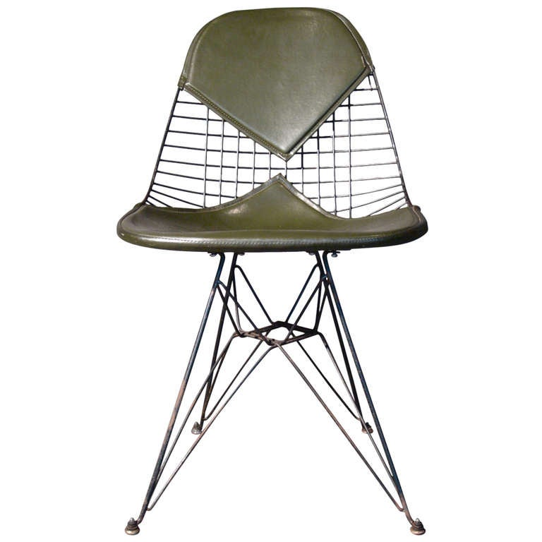 Early Original Charles Eames Eiffel Tower Chair 1951 At