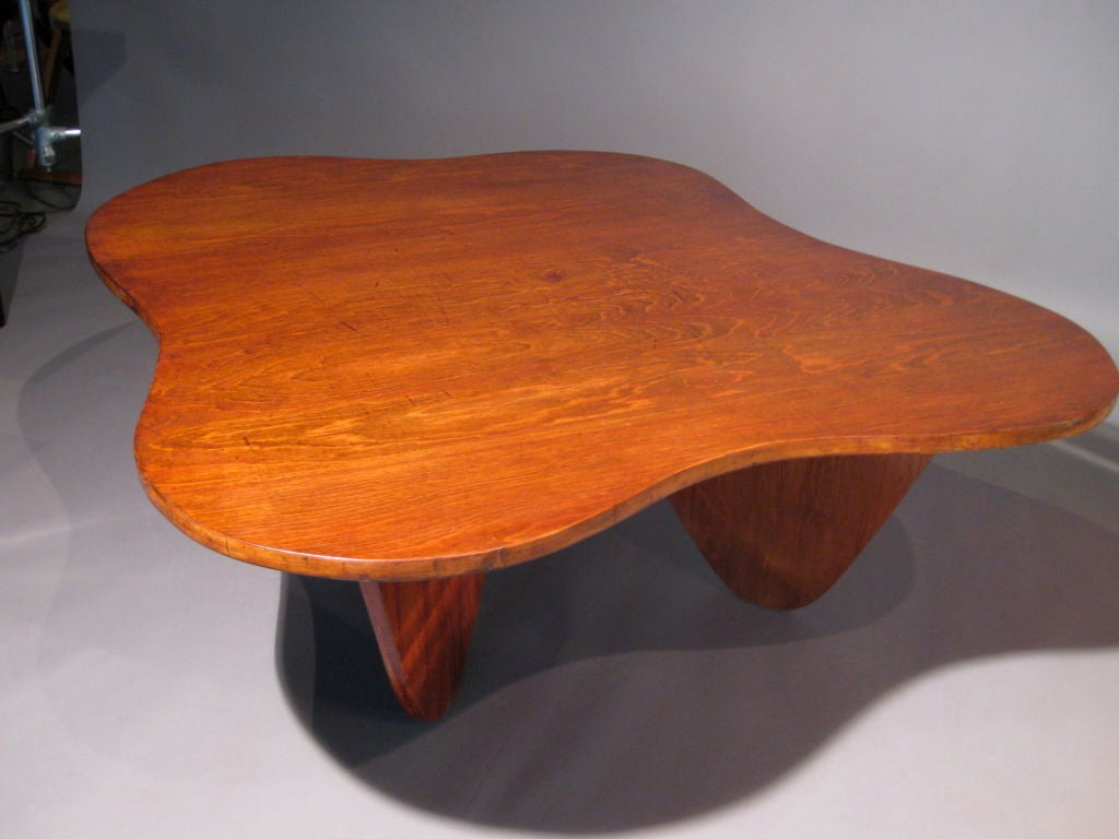 Freeform Plywood Coffee Table Circa 1942 At 1stdibs