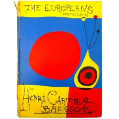 Henri Cartier-Bresson THE EUROPEANS 1st American Edition