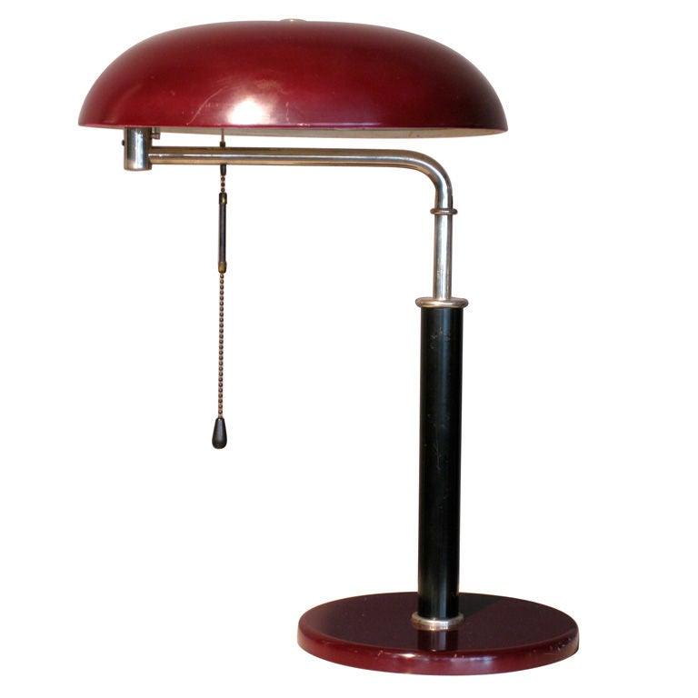 Alfred Muller Modernist Swiss Desk Lamp For Bag Turgi C