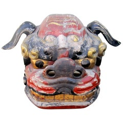Impressive Japanese Dog Head Parade Mask