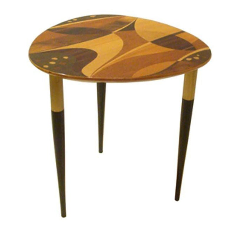 A small inlayed occasional table at 1stdibs for Small occasional tables