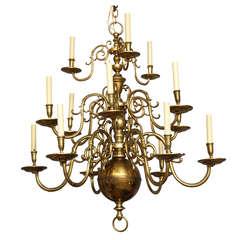Dutch Baroque Style Chandelier