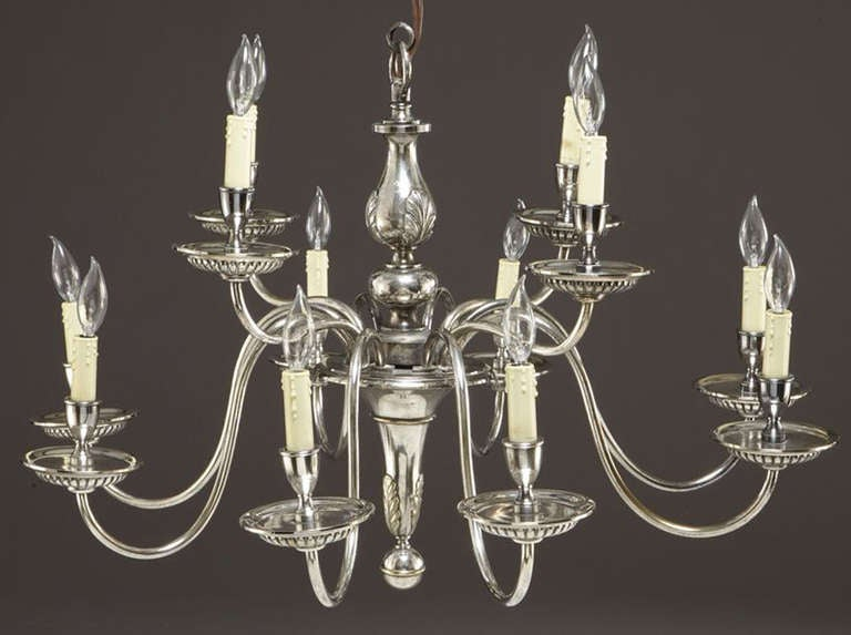 Early 20th C 12 Light Chandelier For Sale At 1stdibs
