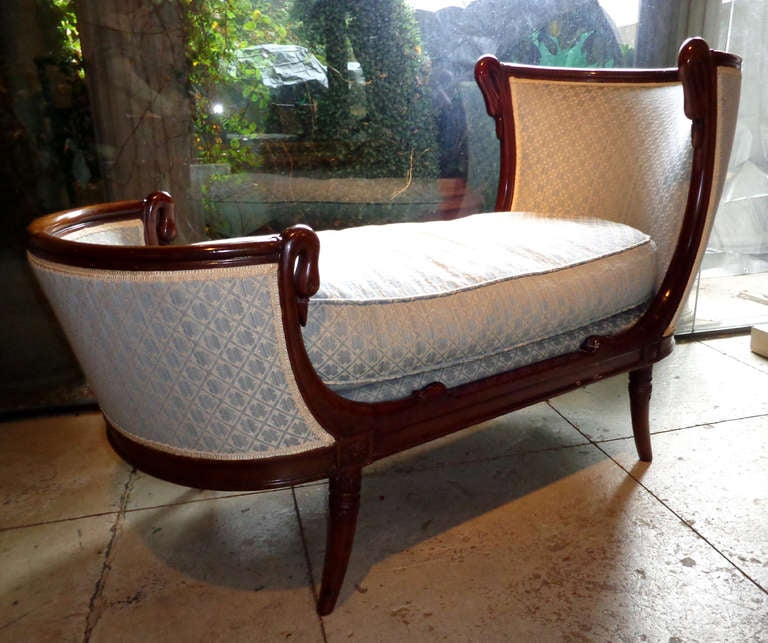 19th c charles x petite chaise at 1stdibs. Black Bedroom Furniture Sets. Home Design Ideas