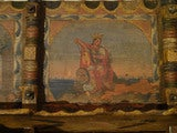 Decorated Sicilian Carved & Painted Donkey Cart image 6