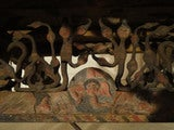 Decorated Sicilian Carved & Painted Donkey Cart image 9