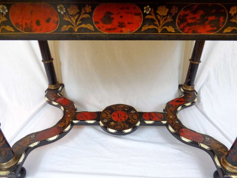 19th c. Italian Exotic Inlayed Table image 4