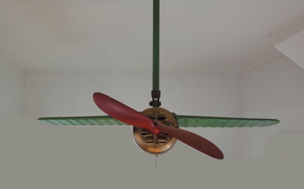 Rare Lindy Airplane Ceiling Fan image 3