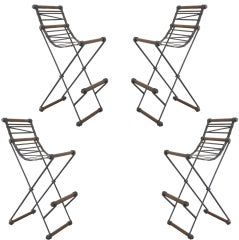 Set of 4 Cleo Baldon Stools