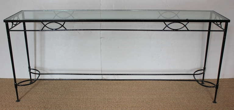 Iron Console at 1stdibs