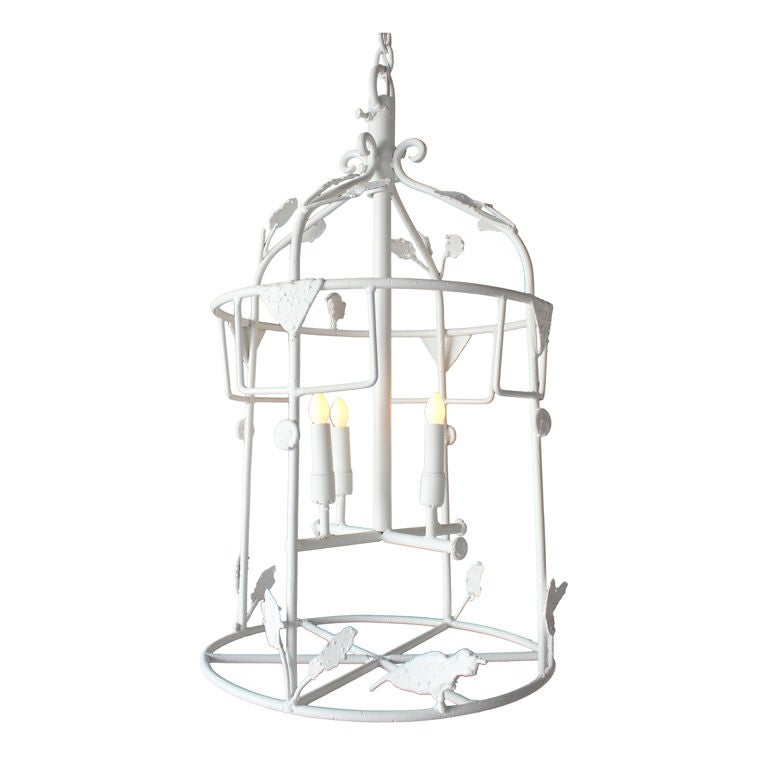 gesso giacometti style lantern at 1stdibs