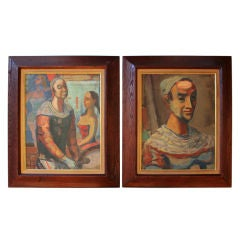 Pair of Gerrit Hondius  Circus  Paintings