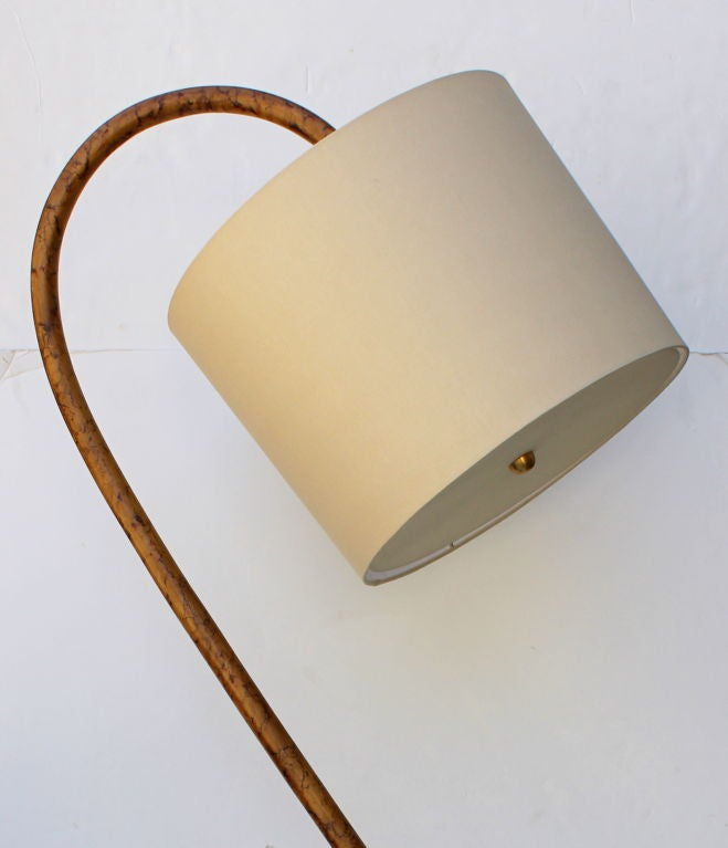 American S Bent Wood  Floor Lamp For Sale