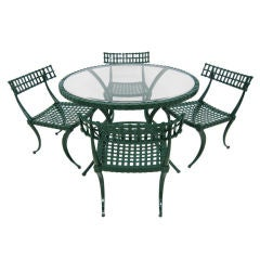 Thinline Cast Aluminum Dining Set
