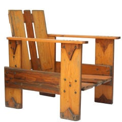 Dutch Crate Chair
