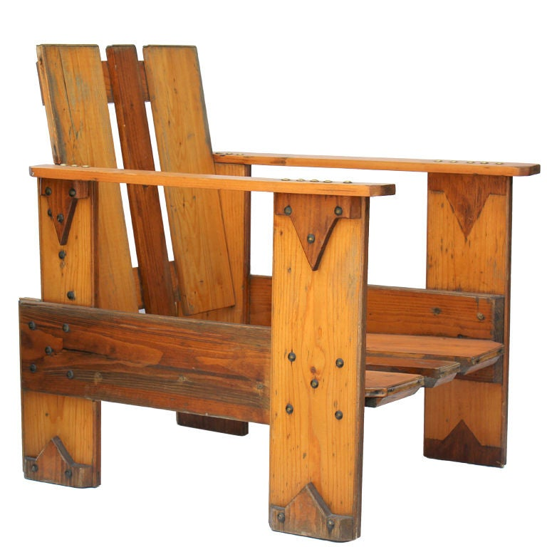 Dutch Crate Chair For Sale