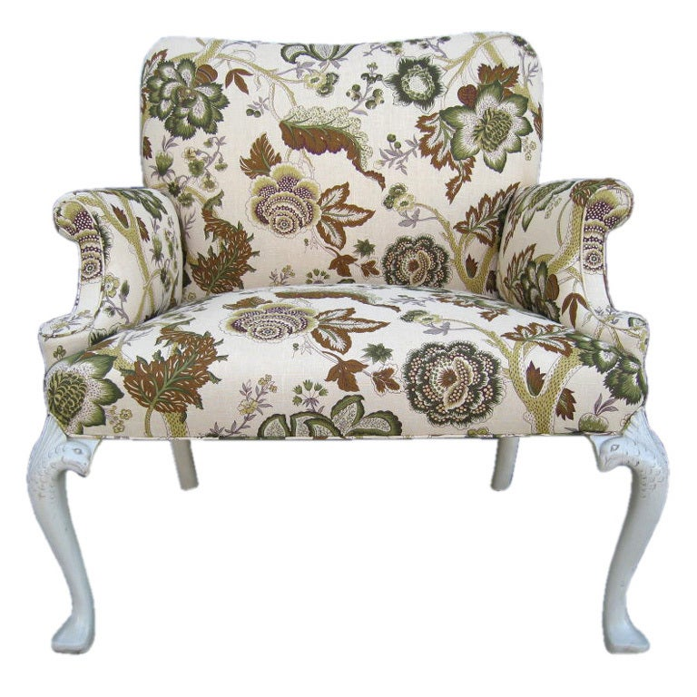 large Pawfoot Arm chair and a half