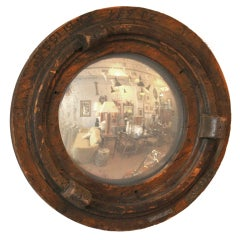 Early 20th Century Mold Mounted as a Mirror II