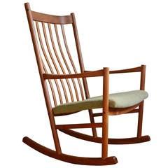 Hans Wegner Teak Rocking Chair