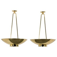 Large Paavo Tynell Ceiling Lights for Taito Oy