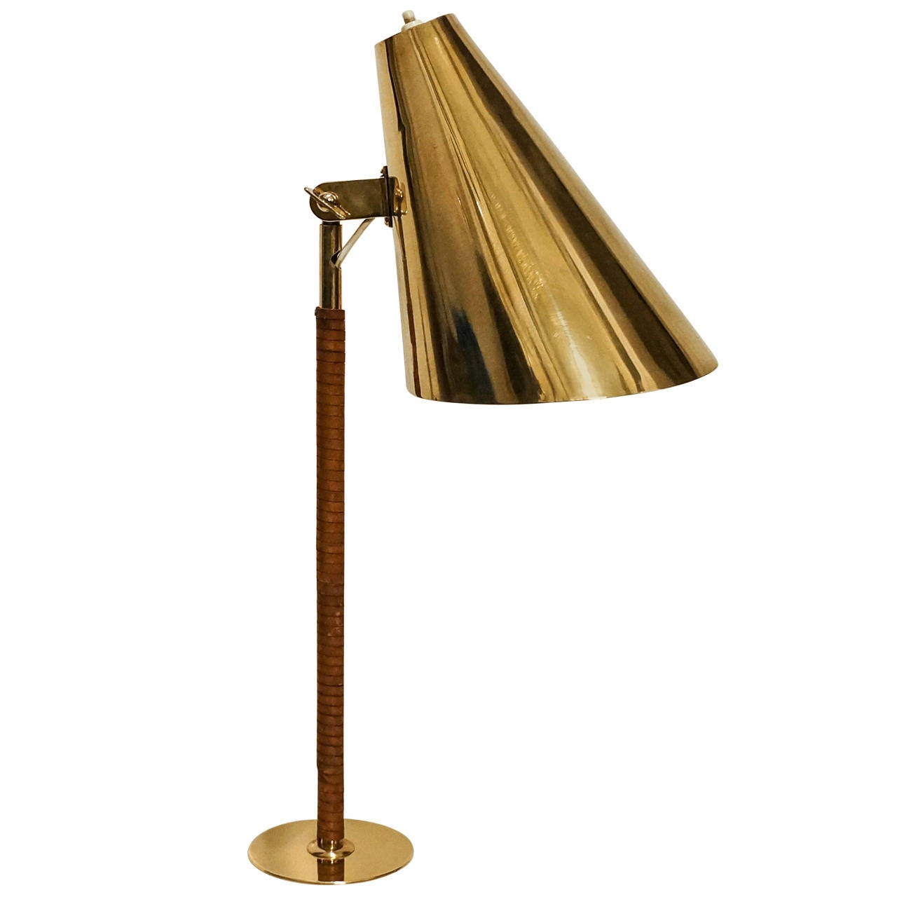 Paavo Tynell Rare Table Lamp, Early 1950s, Taito Oy