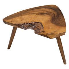 George Nakashima Walnut Plank Footstool or Table