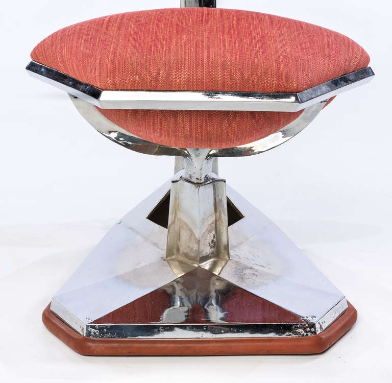 Frank Lloyd Wright Chair from Price Tower, 1956 For Sale 2