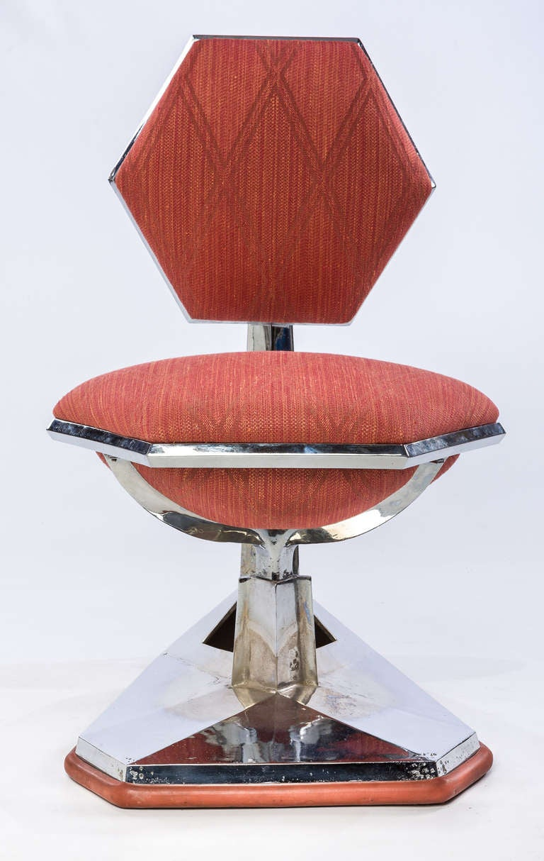 Frank Lloyd Wright Chair from Price Tower, 1956 In Excellent Condition For Sale In Houston, TX