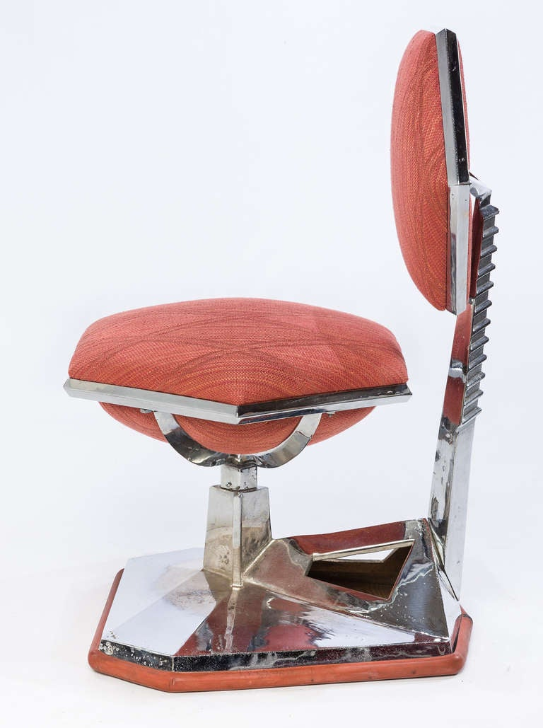 American Frank Lloyd Wright Chair from Price Tower, 1956 For Sale