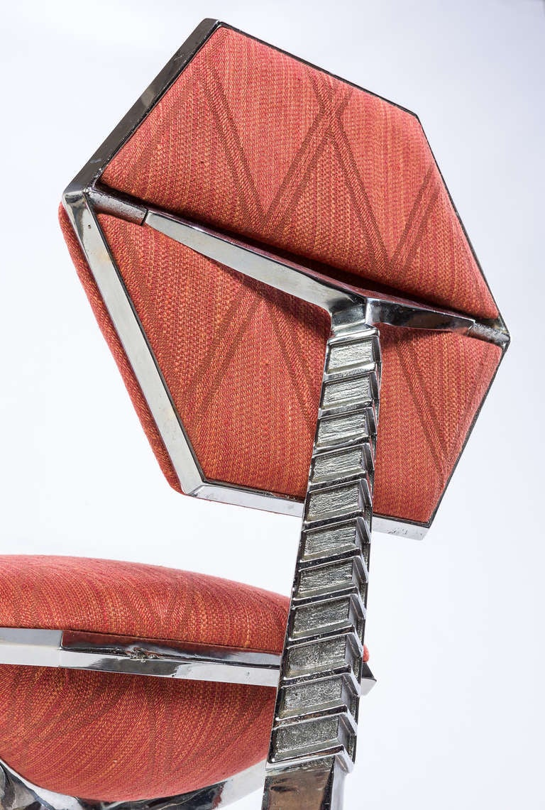 Mid-Century Modern Frank Lloyd Wright Chair from Price Tower, 1956 For Sale