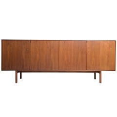 Florence Knoll Walnut Cabinet for Knoll Associates, 1952