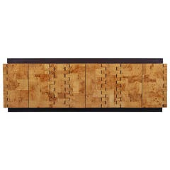 Paul Evans 400 Olive Burl Cabinet, 1970