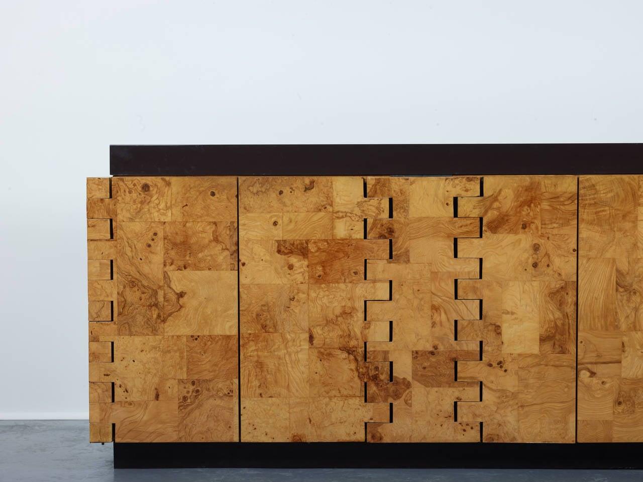 Paul Evans 400 Olive Burl Cabinet, 1970 4