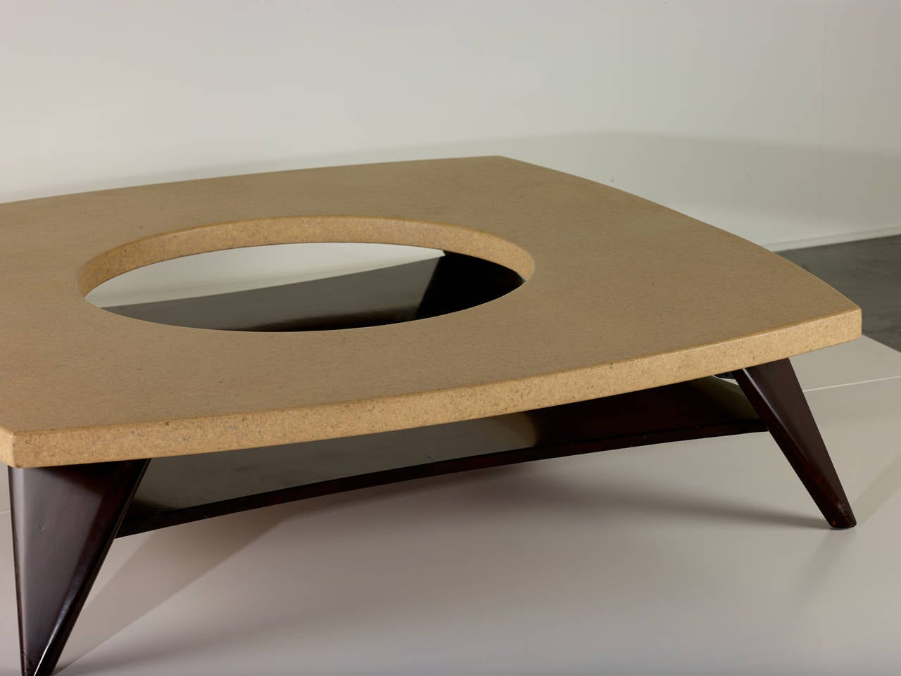 Paul Frankl Cork Coffee Table, 1951 In Excellent Condition For Sale In Houston, TX
