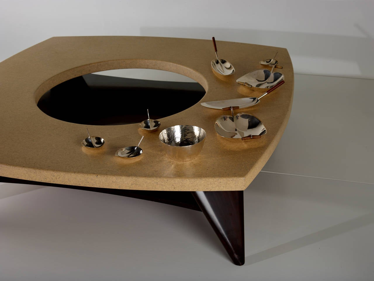 Paul Frankl Cork Coffee Table, 1951 For Sale 1