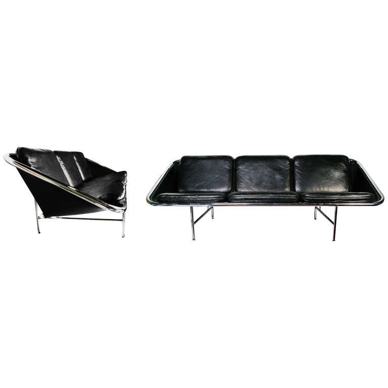 George Nelson & Associates Sling Sofa, 1960s For Sale